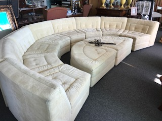 vintage sectional, mid century furniture