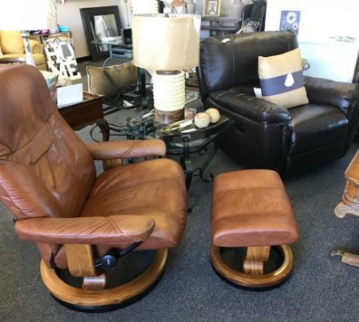 Stressless chair and ottoman - just in!