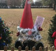 Visit our Gnome Tree on the Tinsel Trail downtown HSV
