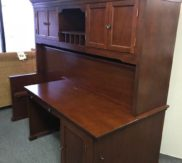 Desk and Hutch with fold out Murphy bed!