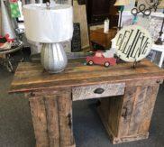 Barn wood custom made desk!