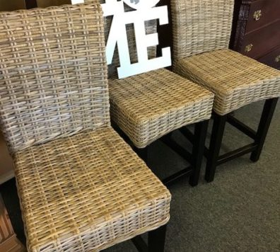 woven counter height bar stools