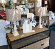 pottery barn media console!