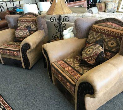 Southwest club chairs! Beautiful!