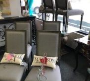 Grey side chairs - New from market!