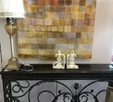 Beautiful Iron entry table!