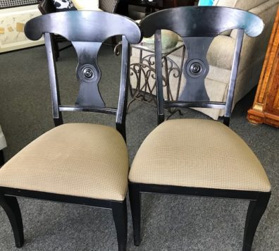 Ethan Allen side chairs!