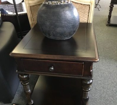 Paula Dean black side table. We have 2 and coffee table!
