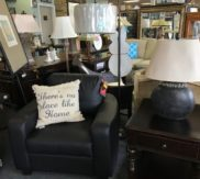 Paula Dean black side table - we have 2 and coffee table