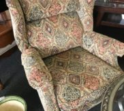 Tapestry wing back chair!