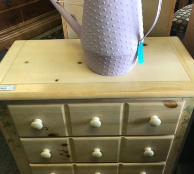 pine 3 drawer chest with mirror
