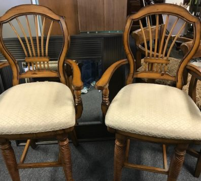 Bar height swivel bar stools - 2