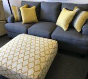 New sofa and ottoman! RUN!