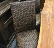 Woven chairs - we have 4!