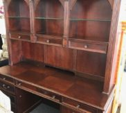 Desk with hutch! Top has light too!