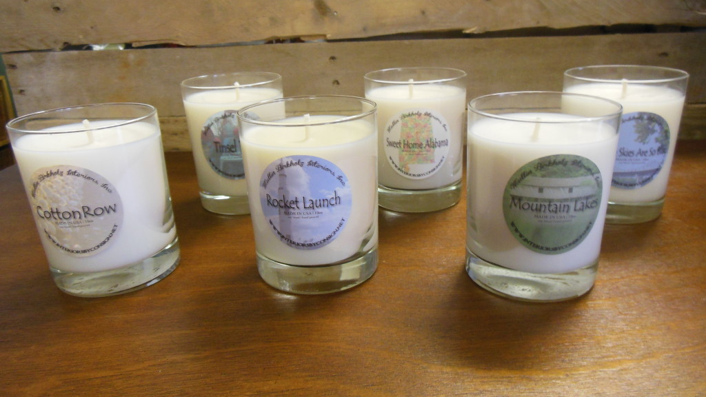 Local theme candles