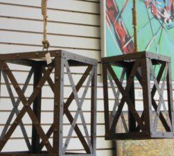 Metal Hanging Lantenrs! LOVE THESE!