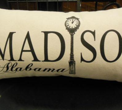 Custom Screen Printed Madison, Alabama Pillow!