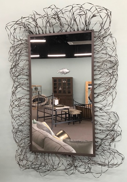 Loving this modern mirror