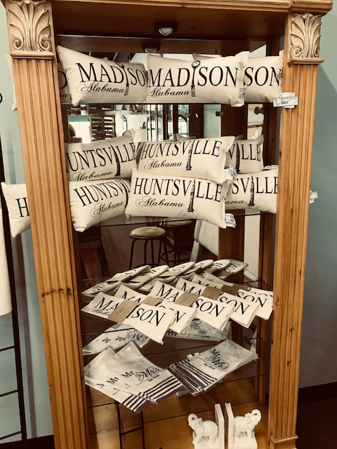 Madison and Huntsville Pillows