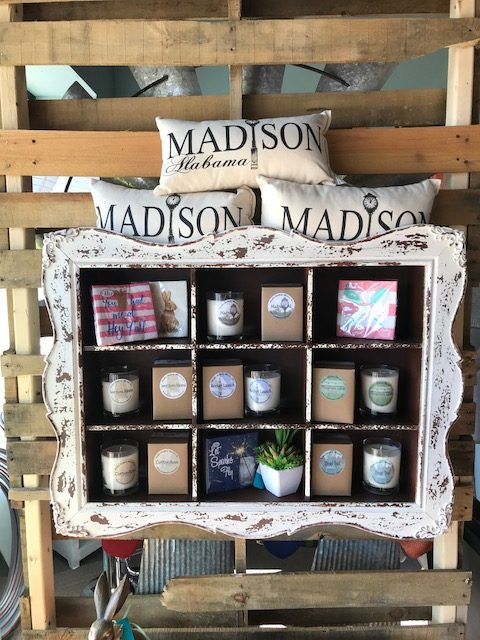 Madison and Sweet Home AL candles