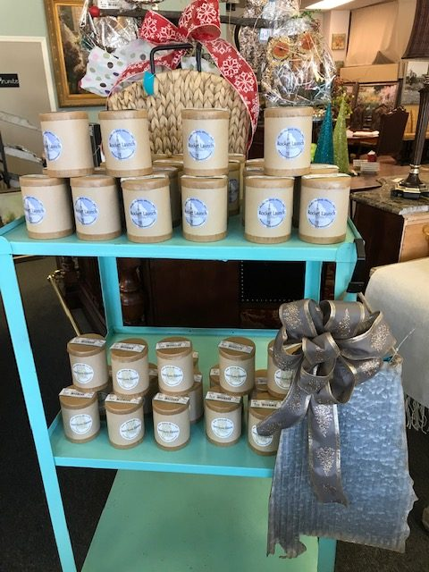Rocket launch and Sweet Home AL candles are here!