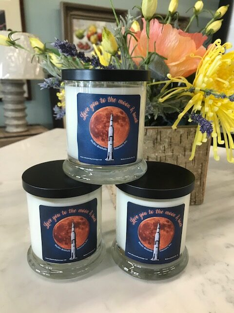NEW! Love you to the moon & back Candles