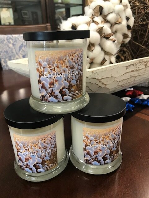 Cotton Row Soy candles!