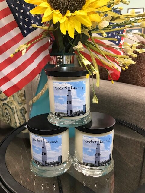 Rocket Launch Soy Candles! Great gifts