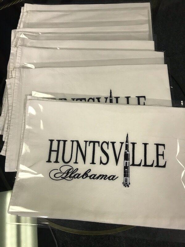 Huntsville Saturn V towels