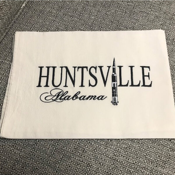 Decorative Huntsville Towel