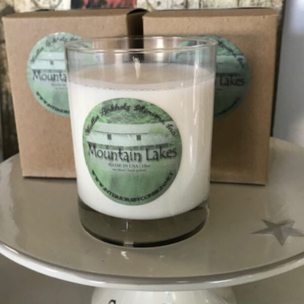 mountain lakes candle