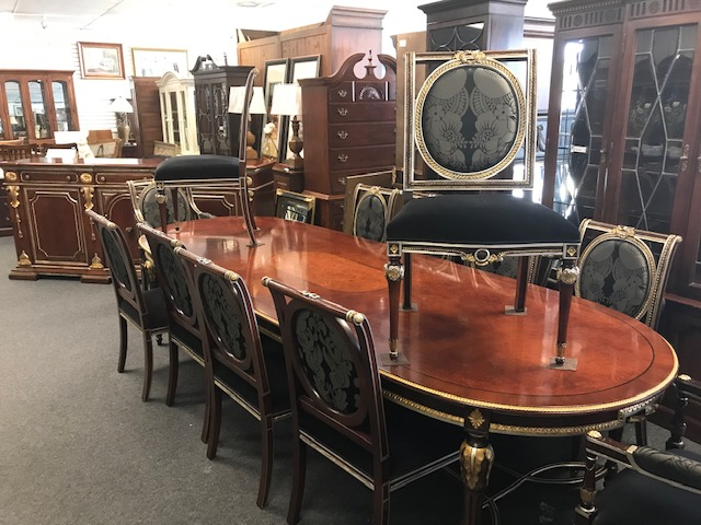 Francesco Molon -table and 12 chairs
