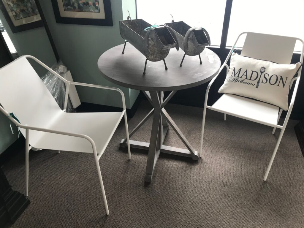 30 in grey tables